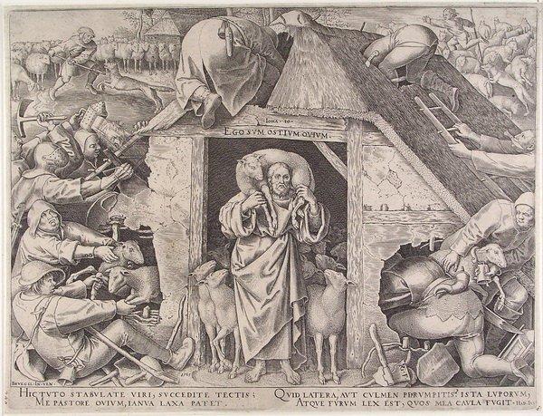 Питер Брейгель Старший и его гравюры