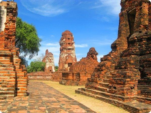 Аюттхая в Таиланде