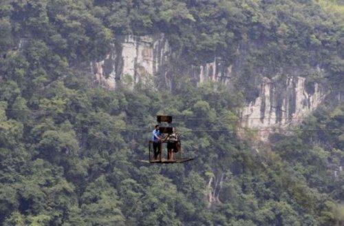 Деревня, в которую можно добраться только по воздуху