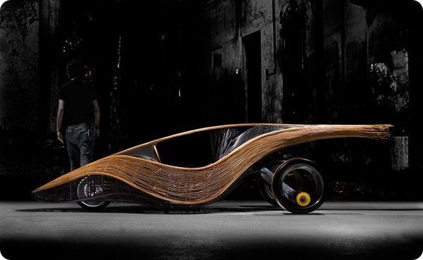 Бамбуковый экоавтомобиль