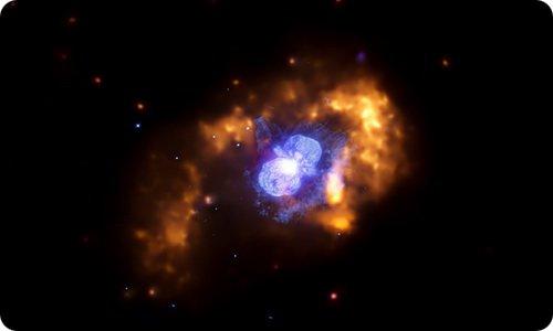 Эта Киля: самая огромная звезда