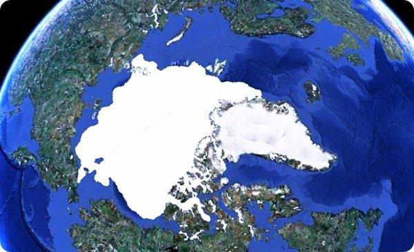 Таяние ледников: глобальное потепление