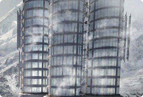 Himalaya Water Towers: лучший небоскреб 2012