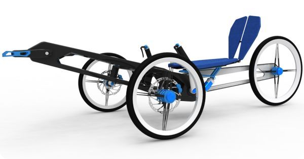 HPV_2F – будущий городской велосипед
