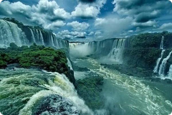 Горло дьявола или водопады Игуасу