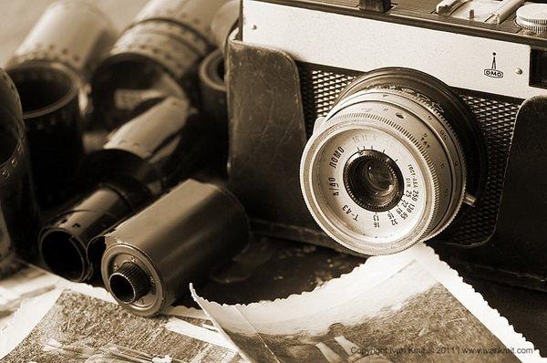 Интересное из истории фотоаппарата и фотографии