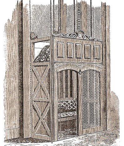 История изобретения лифта