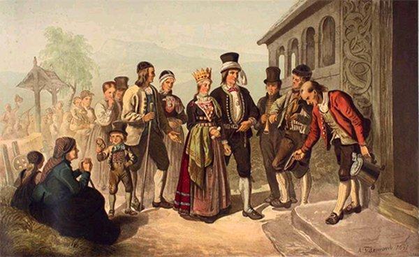 Из истории свадебных традиций