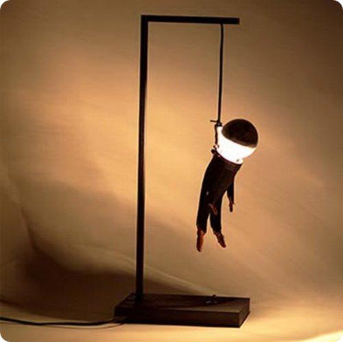 Самые странные лампы