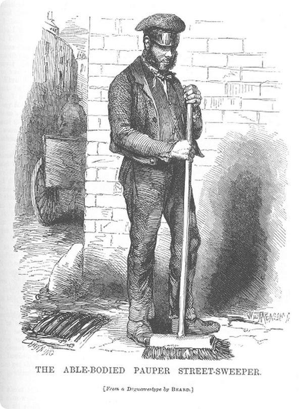 Метельщики во времена королевы Виктории