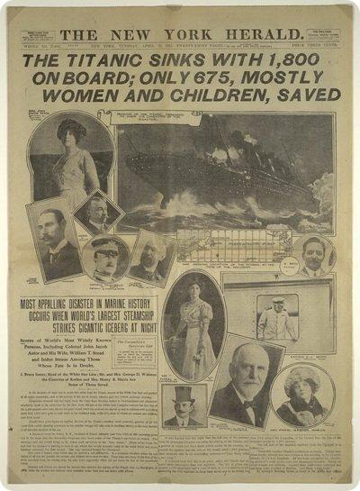 Выжившая после гибели Титаника