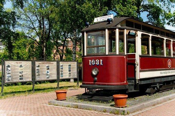 Музей трамвая в Санкт-Петербурге