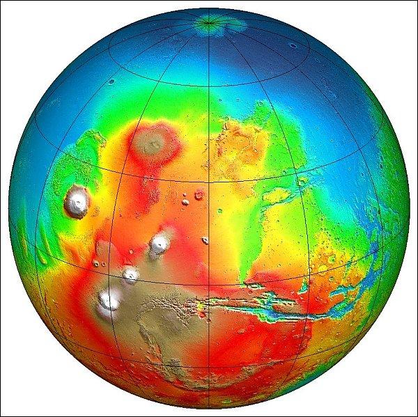 На Марсе существовал древний океан