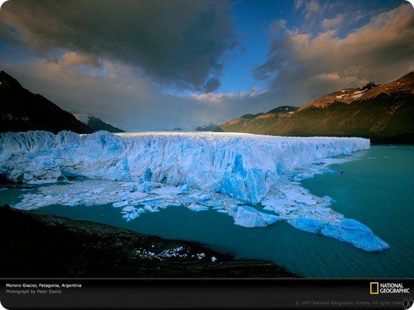 Гигантский ледник Перито-Морено начал таять