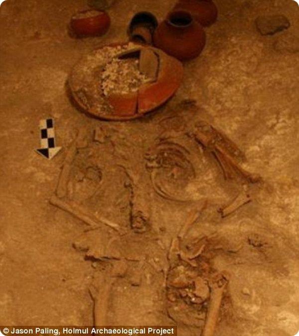 Древнейшее захоронение правителя майя