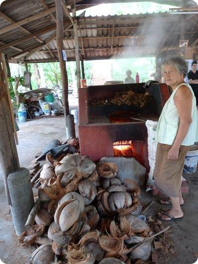 Как делают сахар в Таиланде