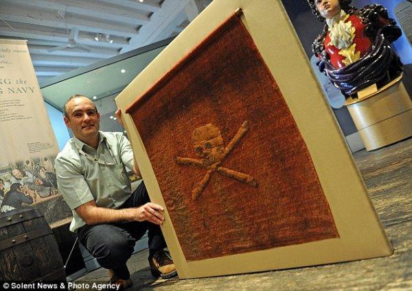 Самый древний пиратский флаг