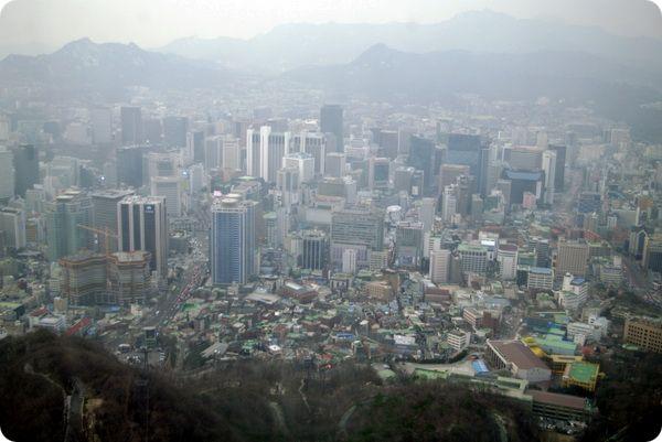 Сеул – самый густонаселенный город в мире