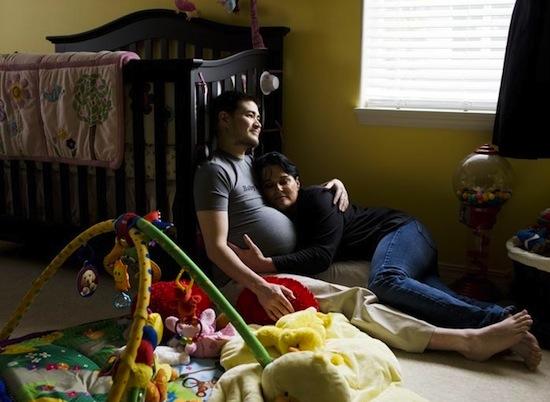 Синдром кувад или беременный муж