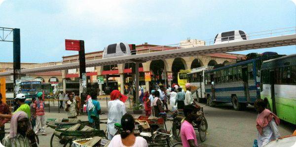 В Индии построят систему такси-роботов