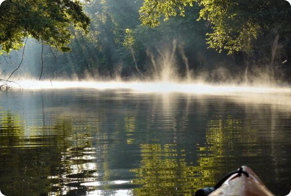 Слоеное озеро