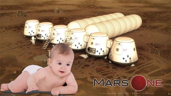 Смогут ли женщины рожать на Марсе