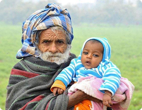 Самый пожилой отец в мире