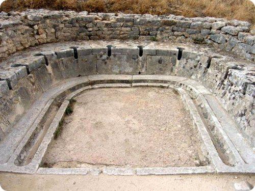 Туалеты в Древнем Риме