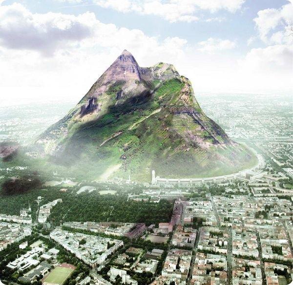 В Голландии хотят построить настоящую гору
