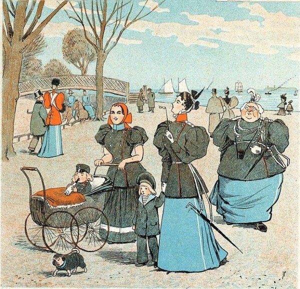 В XIX веке на детскую коляску нужно было получить водительские права