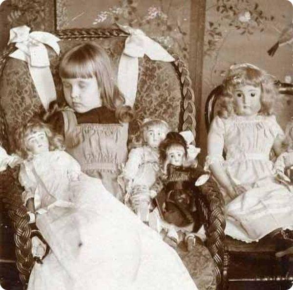 Жуткие фотографии детей