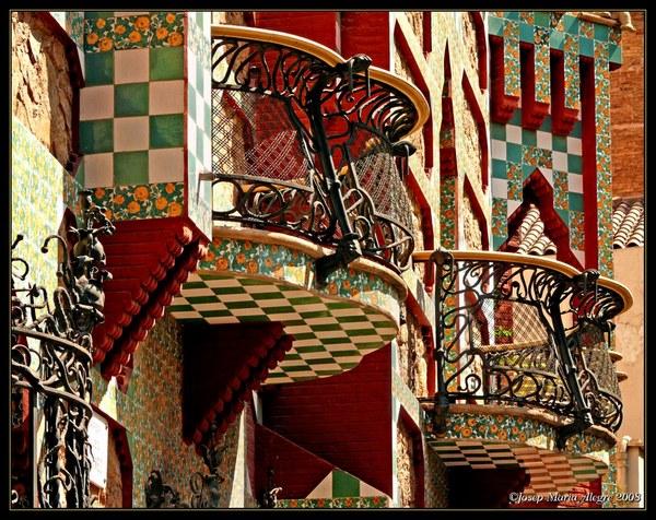 Каса Висенс: необычный дом от Гауди