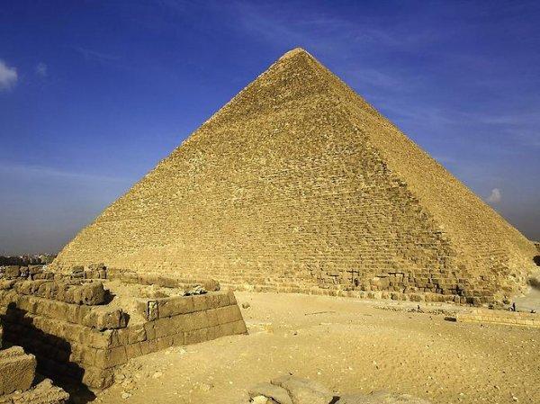 Пирамида Хеопса. Фото