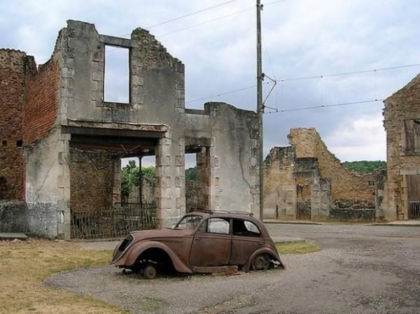 Орадур-сюр-Глан: французский город-призрак