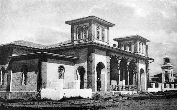 Первые санатории Анапы