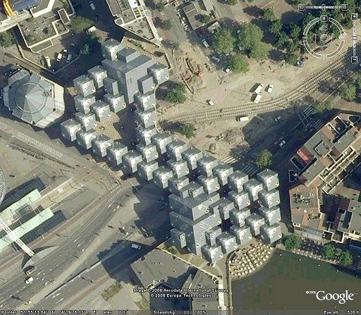 Роттердам и его кубические дома