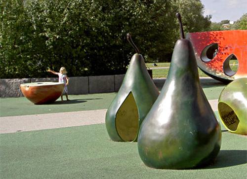 3 необычные детские площадки для игр