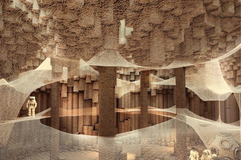 Как будут выглядеть дома колонистов на Марсе