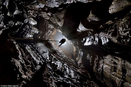 Пещера, в которой есть свои облака и туманы