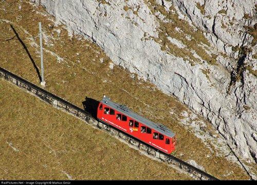 Пилатусбан: самая крутая железная дорога в мире