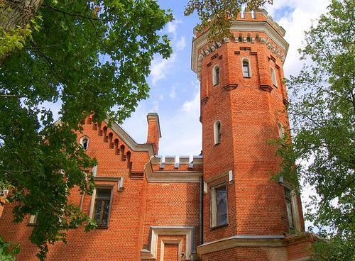 Замок из красного кирпича Евгении Ольденбургской