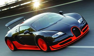 Самый шикарный автомобиль в мире: Bugatti Veyron