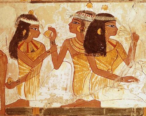 История древней косметики в разные времена