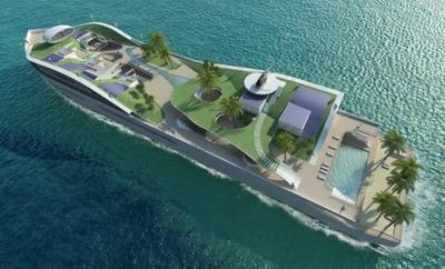 Остров, который на самом деле корабль