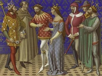 Странности средневековой моды
