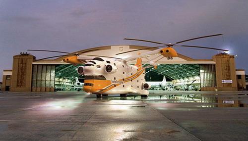 Отель-вертолет