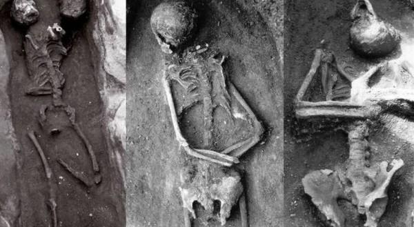 В древности умершим прокалывали черепа, чтобы те не смели воскрешать