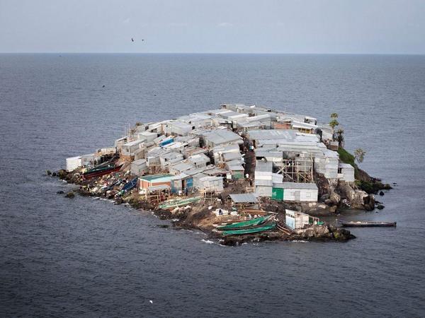 Мгинго: самый густонаселенный остров в мире