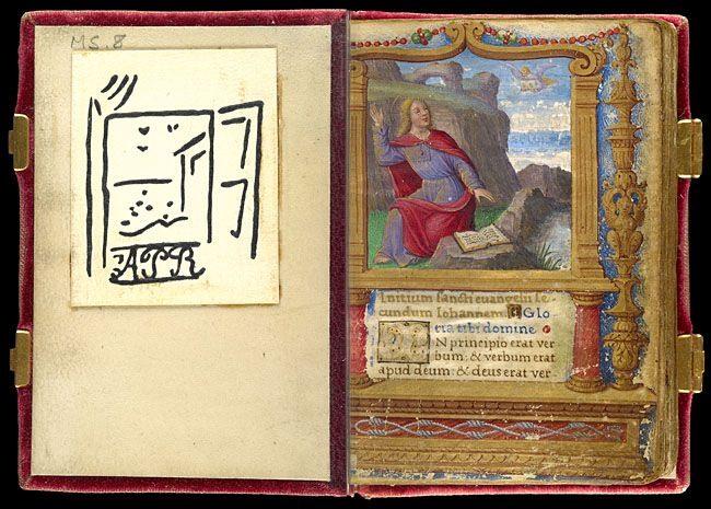 Миниатюрная книга XVI века