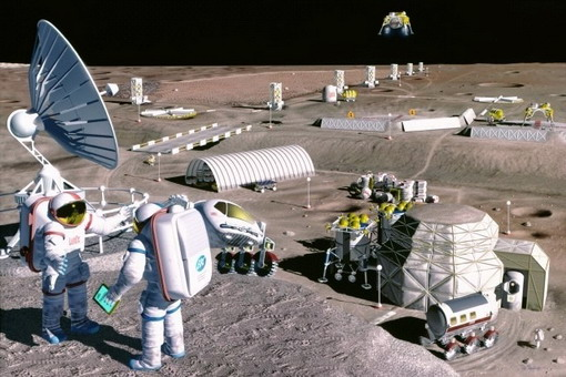 Россия планирует построить на Луне базы